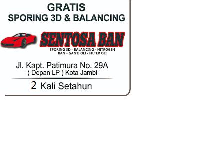 SENTOSA BAN