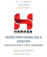 HEROES PROFESSIONAL SHOES & BAG SPA  SAMARINDA