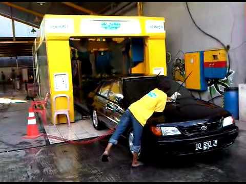 Auto clean car wash