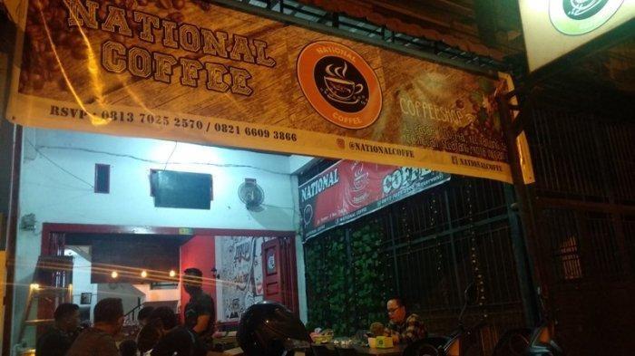 TFC PREMIUM: National Coffee, Tempat Ngopi Semua Kalangan di Kota Medan