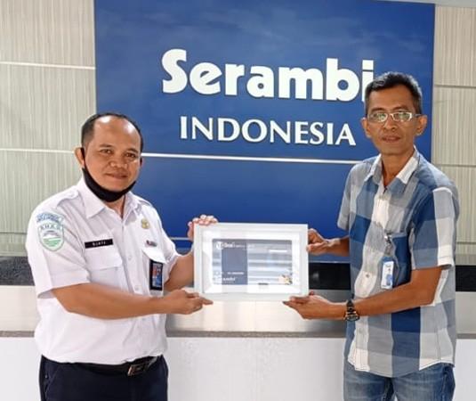 Kepala Stasiun Geofisika BMKG Aceh Besar terima TFC