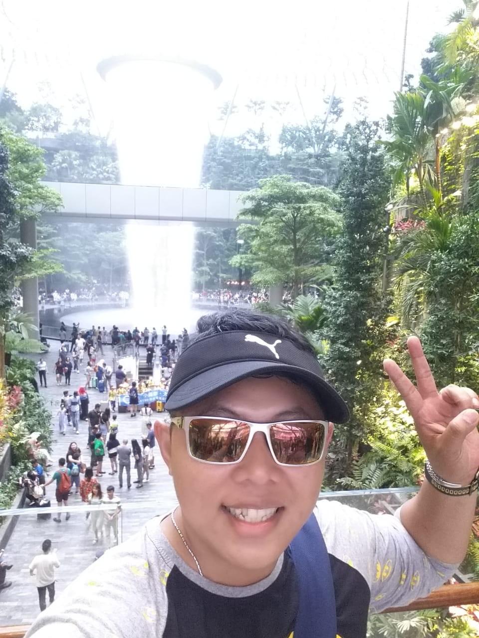 Moses Clifford member TFC Tribun Batam Gratis Liburan ke Singapura