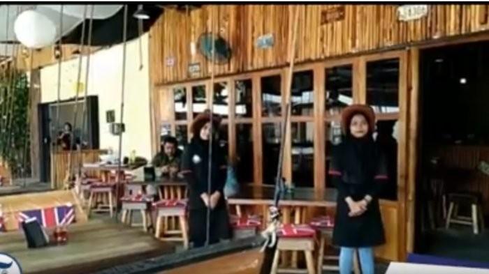Unique Cafe Jalan KH Ahmad Dahlan Suguhkan Suasana Koboi dengan Menu Nusantara